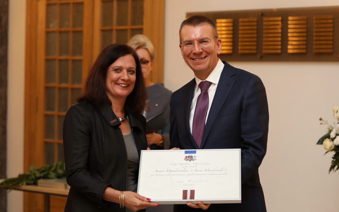 Control Arms Receives Award from Latvian Ministry of Foreign Affairs