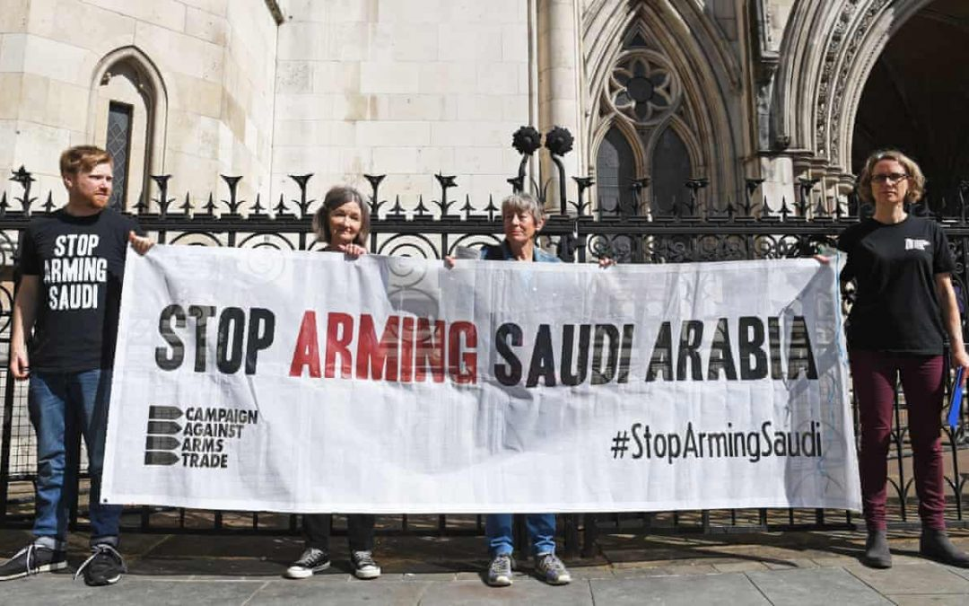 Hope for Yemen as UK Court deems UK Arms Sales to Saudi Arabia Illegal & Irrational