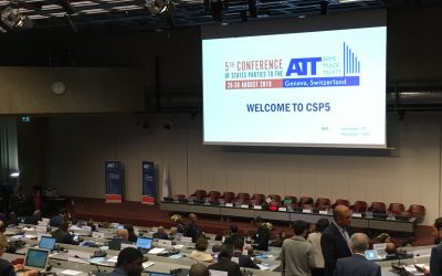 ATT Fifth Conference of States Parties ends in Geneva