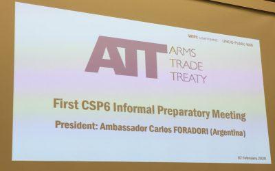 First Round of ATT CSP6 Preparatory Meetings held in Geneva